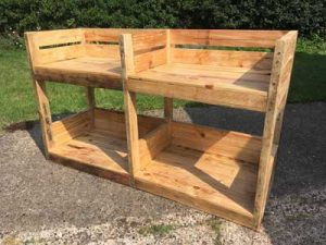 Handcrafted Dogs Beds And Bowls Made To Order From Recycled Pallets