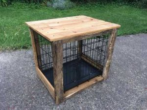 recycled dog crate