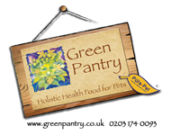 green pantry logo website