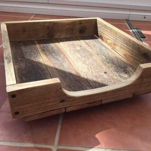 large recycled dog bed